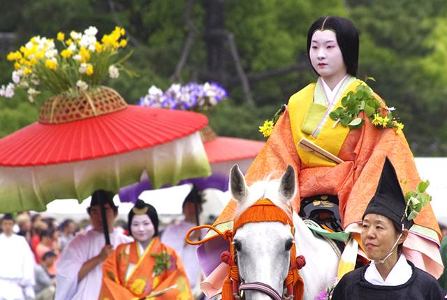 京都の葵祭