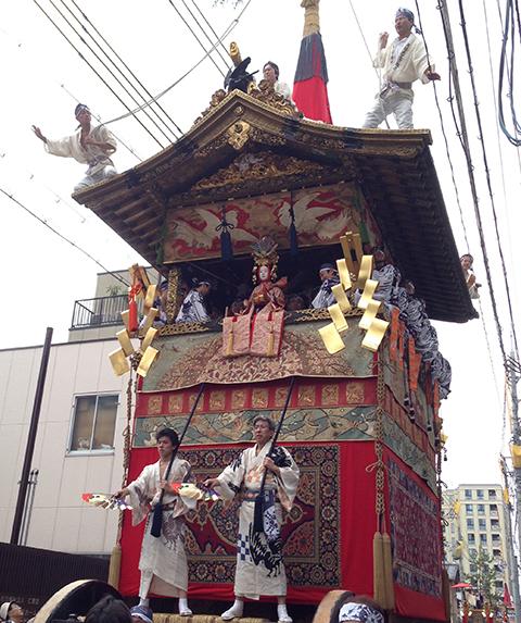祇園祭・月鉾稚児