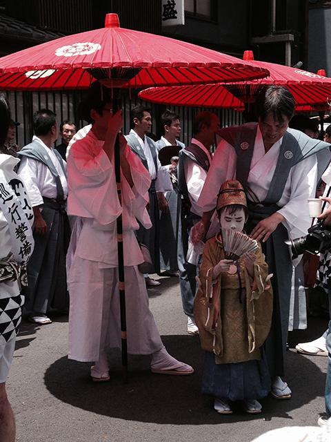 祇園祭・綾傘鉾