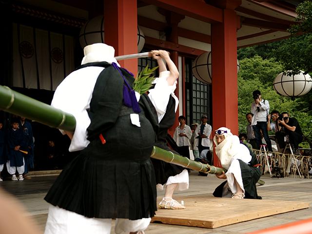 鞍馬寺・竹伐り3