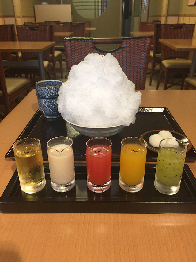 京のかき氷・二條若狭屋・彩雲2