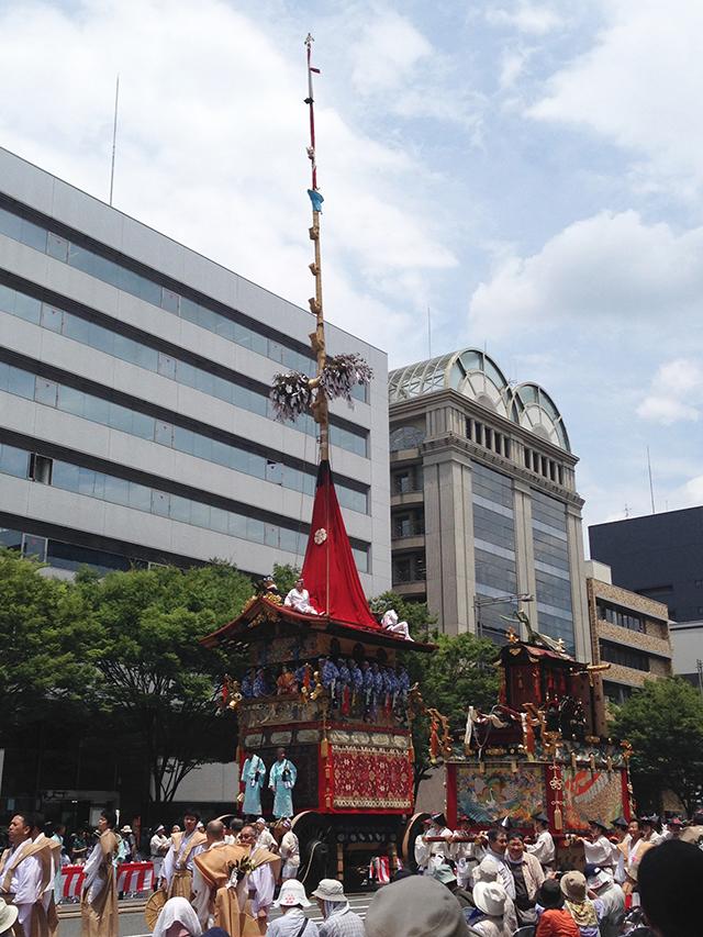 祇園祭・くじ取り式1