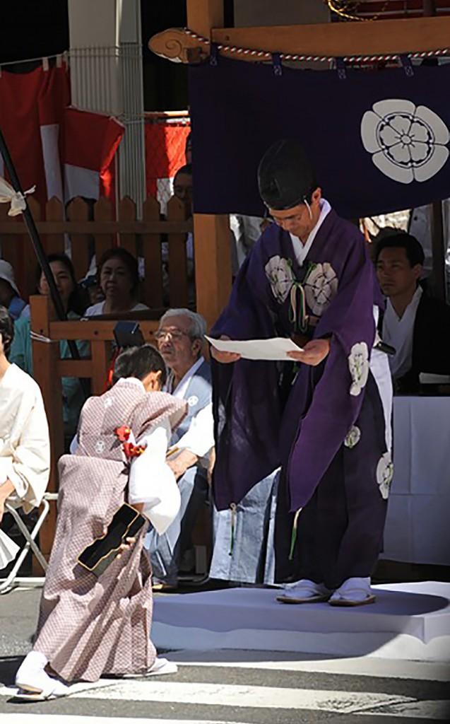 祇園祭・くじ取り式5