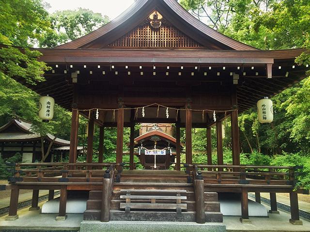 梨木神社舞殿