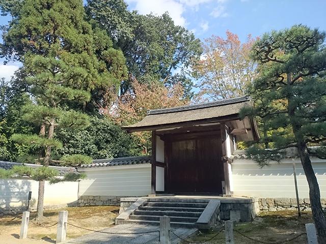 東福寺の紅葉・月下門