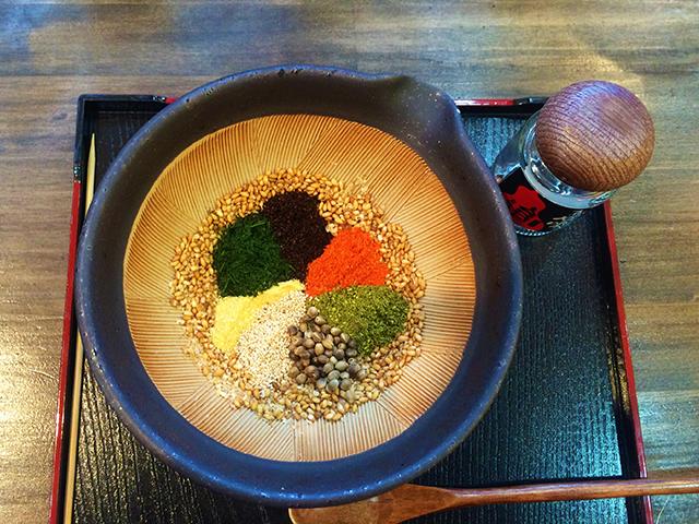 京山城屋・京七味づくり体験2