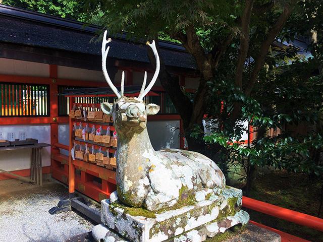 大原野神社・社殿・神鹿