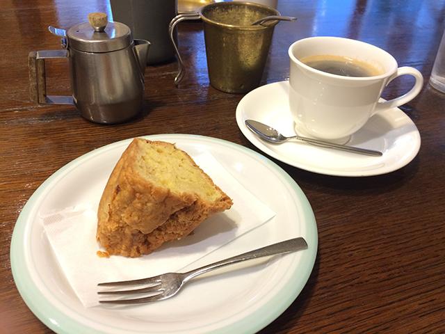 カフェ コレクション-りんごのパウンドケーキ