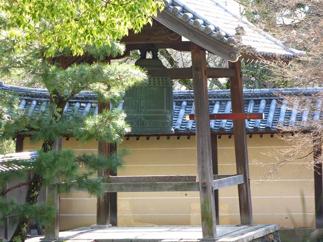 除夜の鐘-大覚寺2