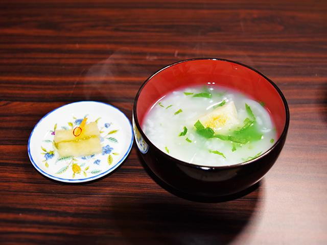 福王子神社-七草粥
