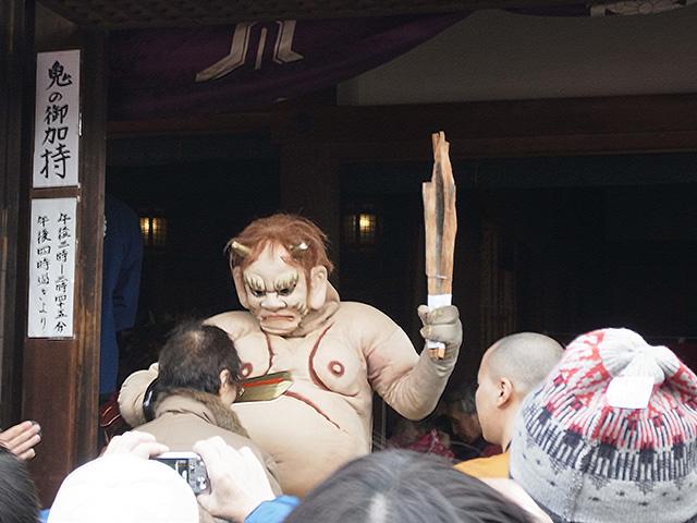 廬山寺 - 鬼のお加持