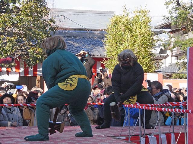 廬山寺 - 青鬼・黒鬼