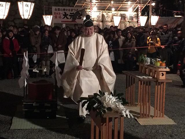 吉田神社 - 火炉祭