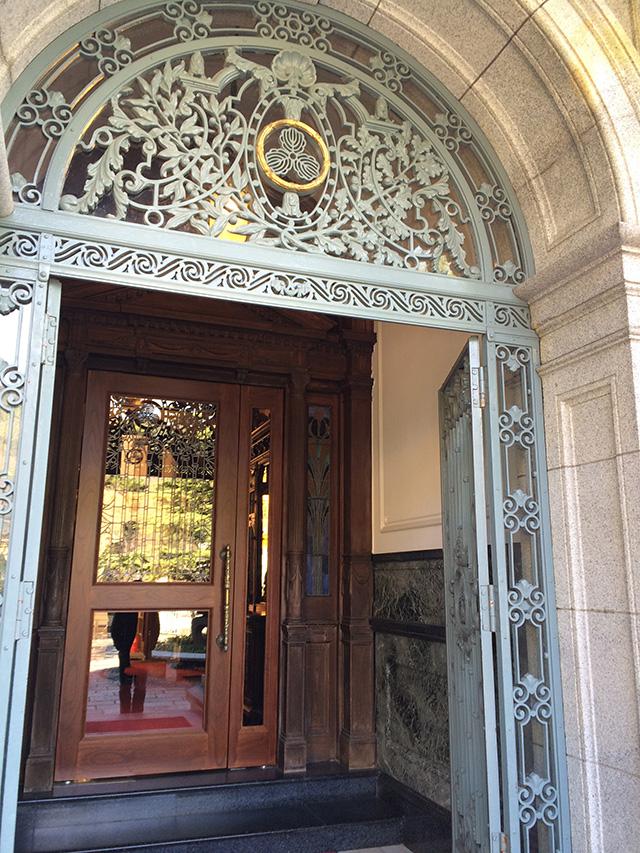 長楽館 - 玄関