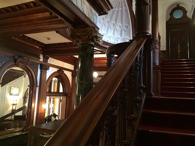 長楽館 - 階段1