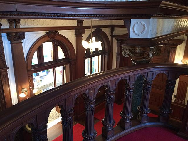 長楽館 - 階段2
