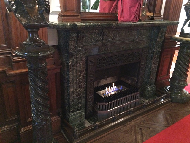 長楽館 - 暖炉