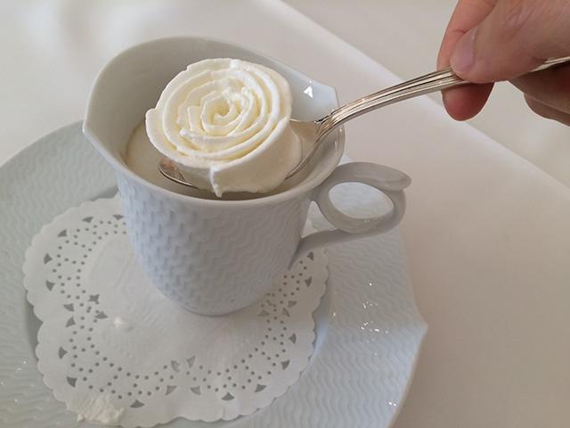 長楽館 - ウインナーコーヒー2