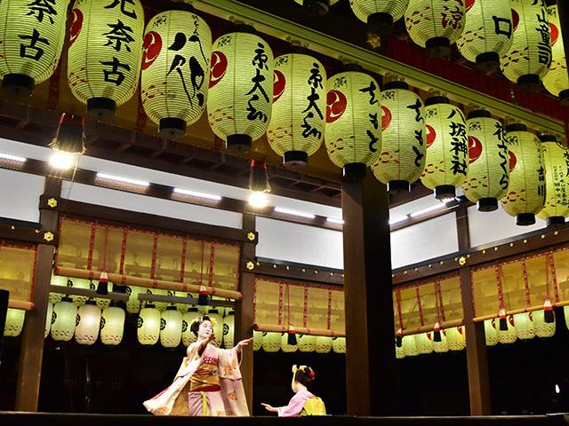 東山花灯路(2016)- 奉納舞踊
