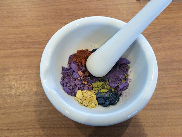 匂い香づくり体験 - すり鉢