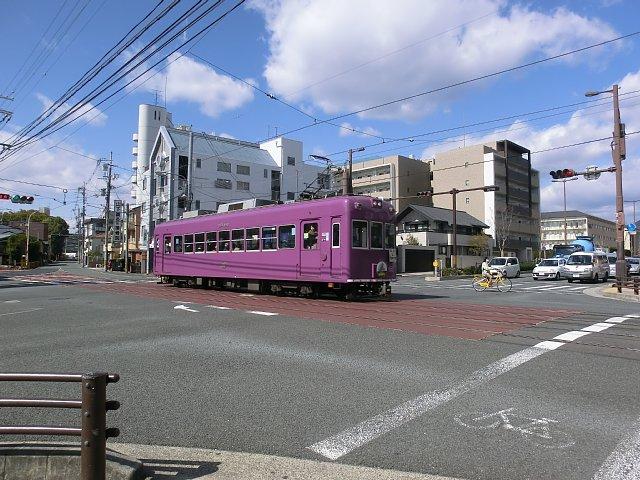 嵐電車両1