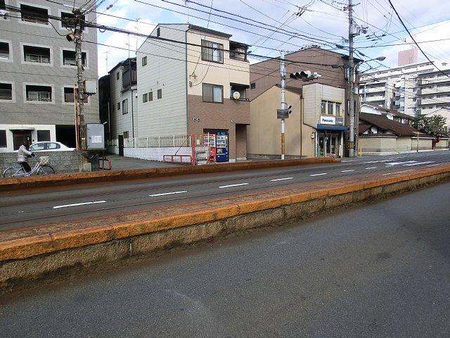 嵐電 - 山之内駅