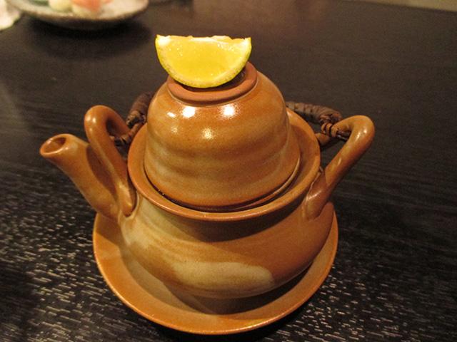 乃ぶお - 松茸と鱧の土瓶蒸し