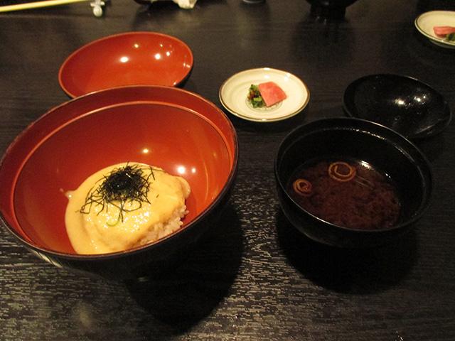 乃ぶお - 麦とろ飯+赤だし・香の物