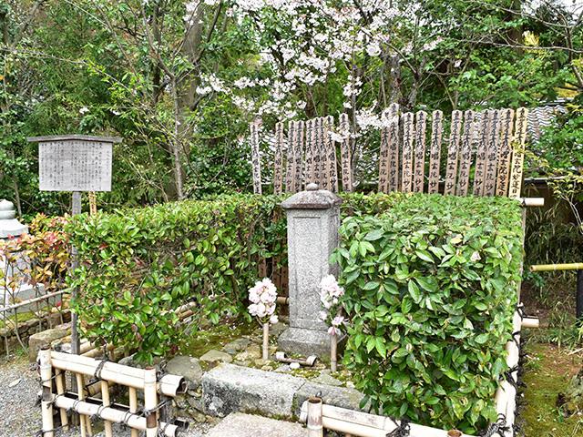 常照寺 - 吉野太夫の墓