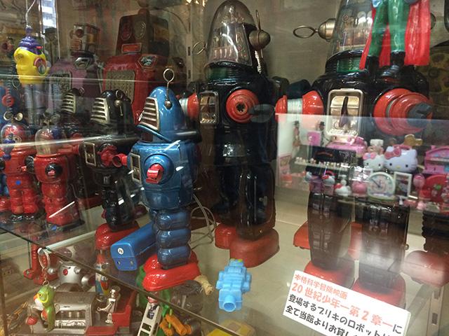 ブリキのおもちゃと人形博物館 - 映画セット2