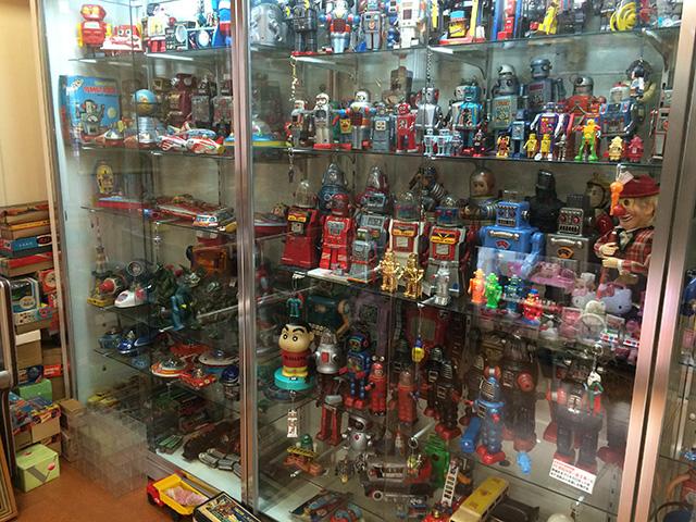 ブリキのおもちゃと人形博物館 - 映画セット