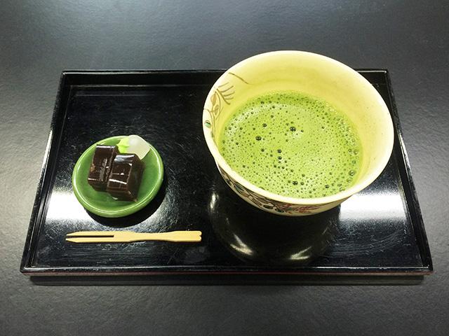 家紋工房・柊屋新七 - お抹茶