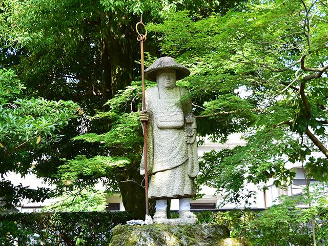 神光院 - 弘法大師像