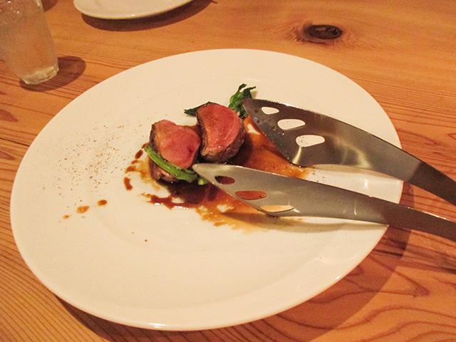 オステリア センプレ - 鴨胸肉のロースト