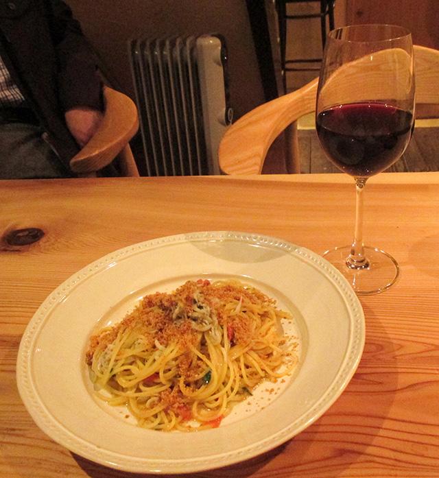 オステリア センプレ - シラスのスパゲッティシチリア風