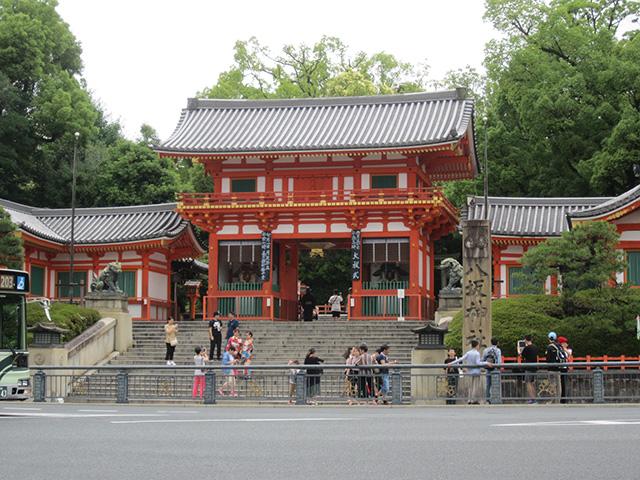八坂神社 - 西楼門