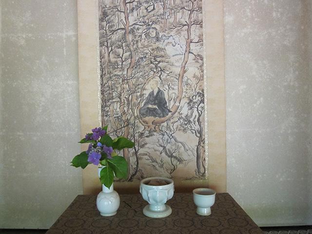 高山寺 - 明恵上人像