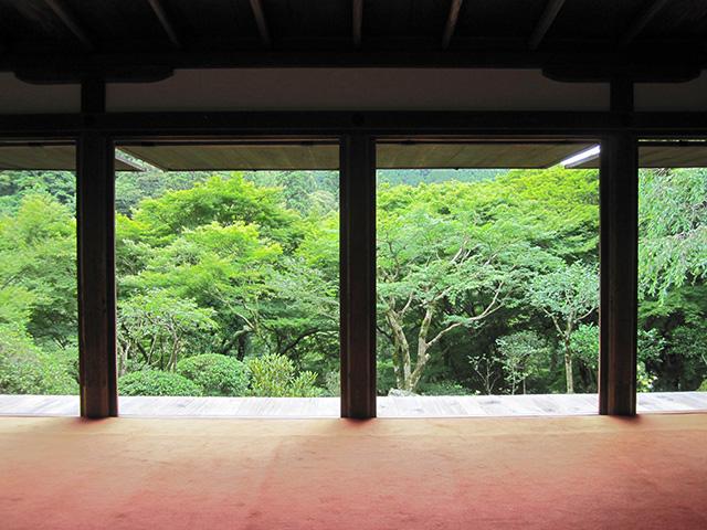 高山寺 - 石水院南縁