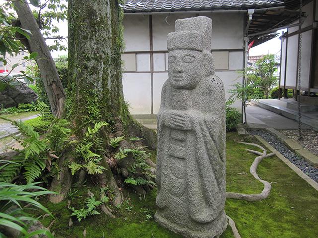らくがき寺 - 石像