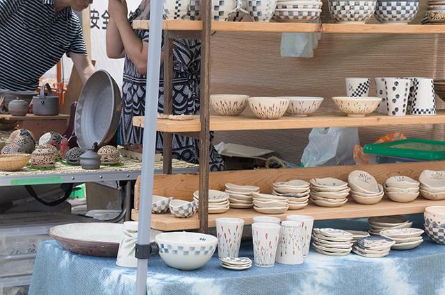 陶器まつり - 店先