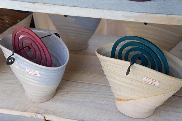 陶器まつり - 蚊取り線香