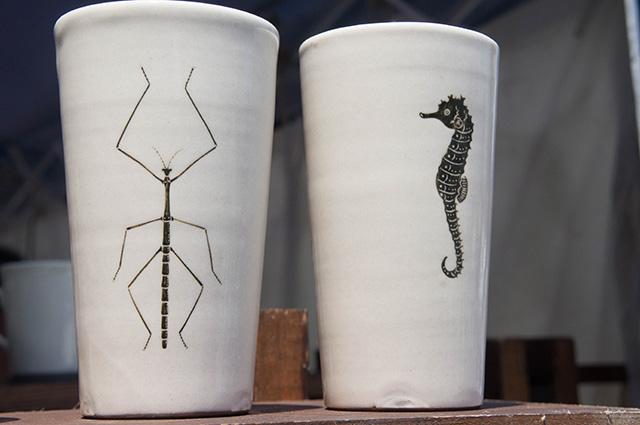 陶器まつり - ナナフシ