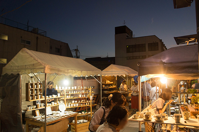 陶器まつり - 夜全景
