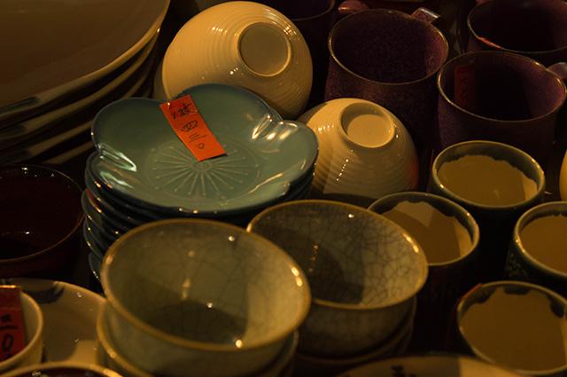 陶器まつり - 夜店先2