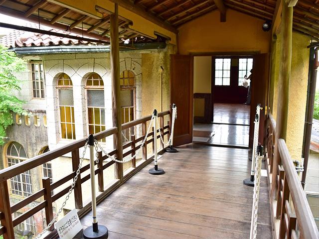 和中庵 - 渡り廊下