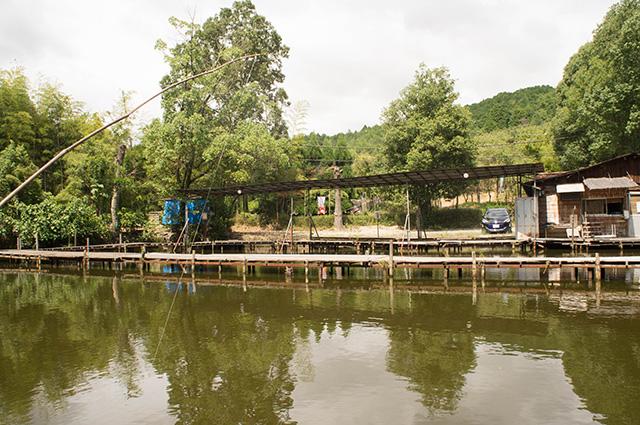 釣り池 弁慶 - 池2