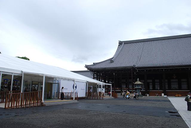 本願寺 おてらかふぇ&まるしぇAKARI - 外観