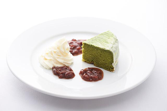 本願寺 おてらかふぇ&まるしぇAKARI - 抹茶ケーキ