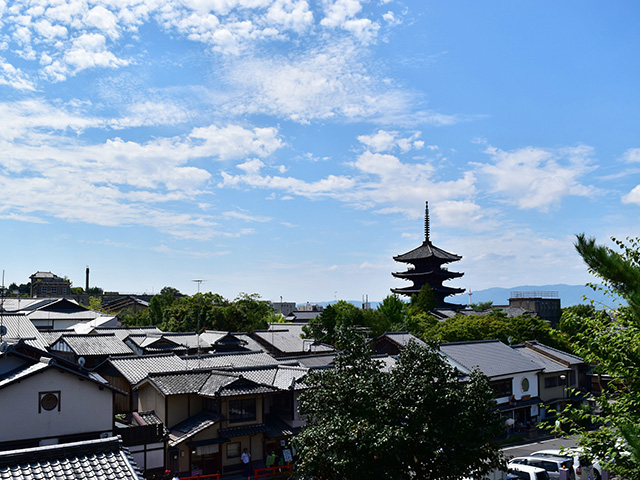高台寺からの塔