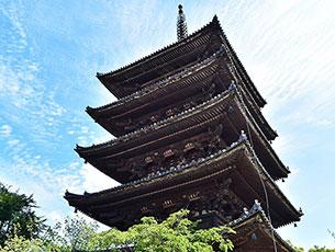 法観寺の八坂の塔EC